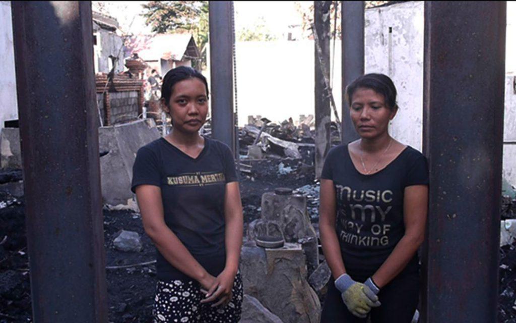 Clear Cafe Ubud after fire