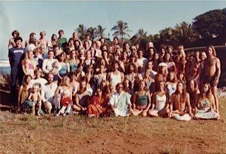 The Maui Ashtanga tribe , Guruji's tour 1980