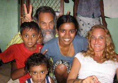 In Sri Lanka for Shanti Foundation