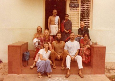 First trip to Mysore 1979