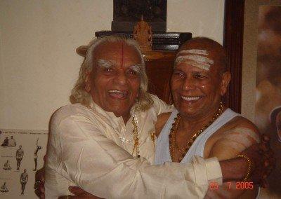 BKS. Iyengar and Pattabhi Jois