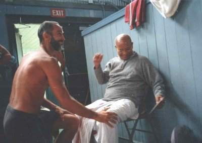 Prem and Pattabhi Jois
