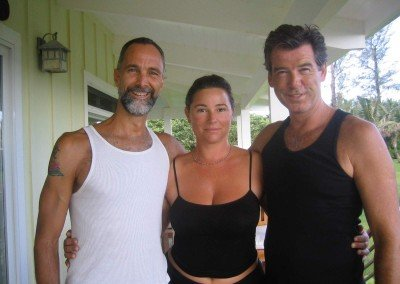 with 007 Pierce Brosnan