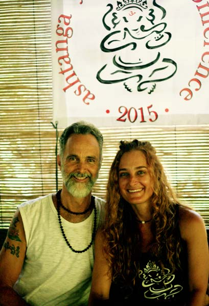 Prem & Radha at Ashtanga Yoga Bali Conference 2015