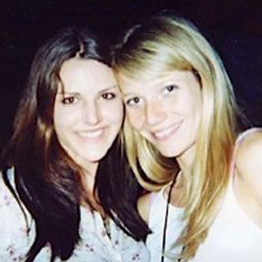 Shanti met Gwyneth Paltrow